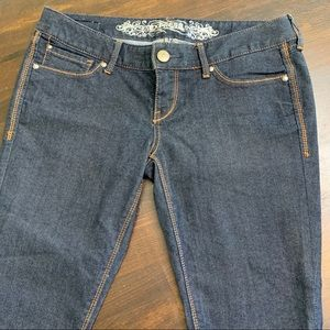 Express Dark Blue Zelda Slim Fit Jeans 6S